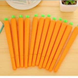 Creative carrot design pen