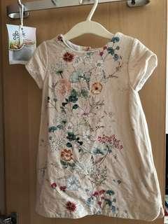 Zara Floral Dress - 3-4y