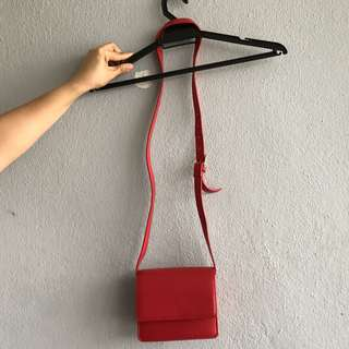 Monki Red Sling Bag