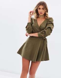 Suzie Cotton Wrap Dress