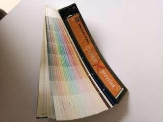 Color standard for kansai paint