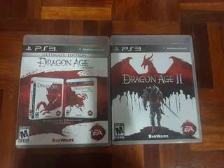 Dragon Age PS3 Games