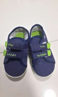 Baby Bubbles Blue Shoe