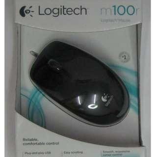 *FREE MAILING*INSTOCKS*Logitech Mouse -m100r