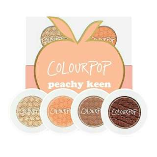 Colourpop Peachy Keen Eyeshadow Set