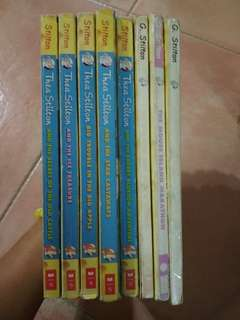 Geronimo Stilton preloved books @ $2 each