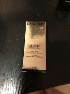 Lancôme Absolute Intense Revitalizing Emulsion乳液5ml