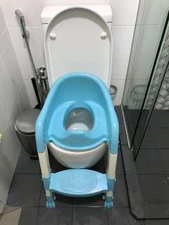 Baby toilet seat