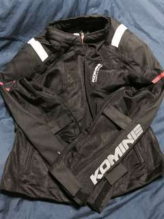 KOMINE Women's Mesh Riding Jacket