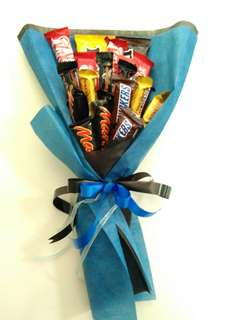 Mixed chocolate bouquet.