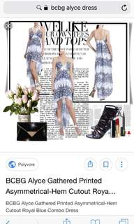 Bcbg alyce dress