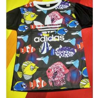 'Under the Sea' Adidas T-shirt