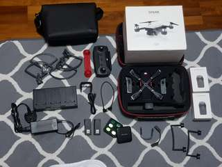 DJI Spark Flymore Combo with Lots of Accesories (Complete Travel Package)
