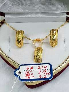 21k Saudi Gold Settings