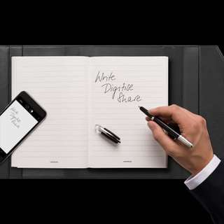 Mont Blanc Augmented paper - digital note book
