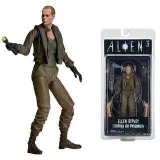 NECA 7吋 第8代 ALIEN3 異形3 光頭 蕾普莉 Ripley 可動 人偶 Alien 異形 非 異形狗 聖約