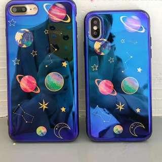 IPHONE8/X 星球全包手機殼 電話殼 IPHONE CASE
