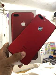 Iphone 7 plus 32gb complete limited edition RED Factory unlock !