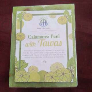 Calamansi & tawas peel soap approved by fda