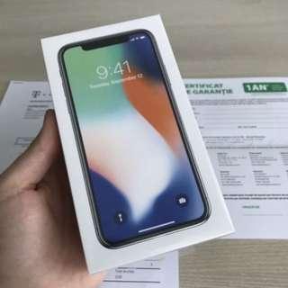 Used like new Apple iPhone X - 256GB - Silver Unlocked Smartphone