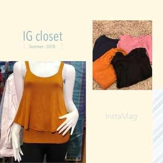 [In stock] Basic ladies blouse