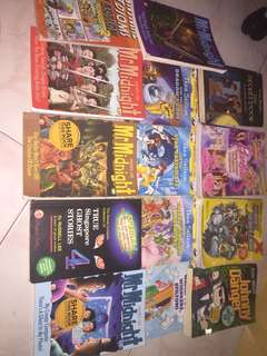 English books for sell at $3 for every book