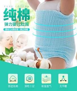 【5条装】宝宝护肚神器婴儿围肚保护肚子避免受凉 颜色随机 多买多送 baby stomach protector