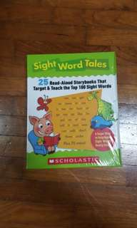 🚚 *New* Sight Word Tales (25 Read-Aloud Storybooks & CD Set That Target& Teach the Top 100 Sight Words)