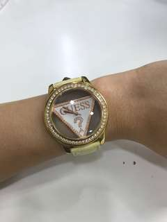 Guess Bling and Gold Watch