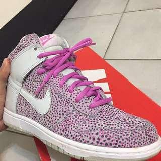 極少見花卉款Nike Dunk HI skinny print