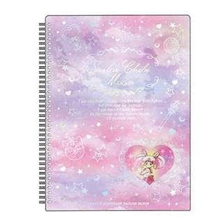 美少女戰士宇宙紀念文具A4線圈文件夾-chibi Moon