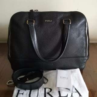Authentic Furla handbag satchel