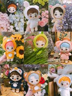sg go exo-l commemorative doll by exobar