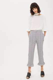 Topshop Checkered Trousers