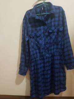 Mango Checkered Dress