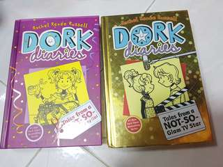 Dork Diaries: 2 hard cover bundle set