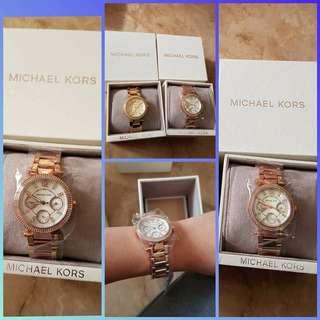 U.S. Authentic MK Parker Rosegold Watch