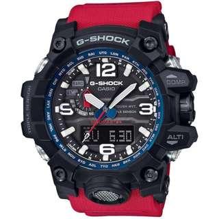 Casio G-SHOCK Mudmaster Rescue Red (GWG-1000RD-4AJF)