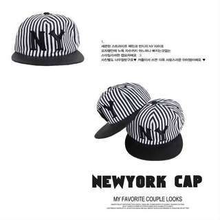 New York NY (Black) Hip Pop BBoy SnapBack Hat & Cap