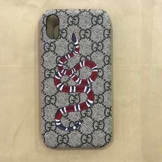 Gucci snake case brown