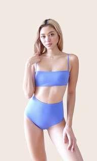 Blue Strip Lewis Hi-kini EighthMermaid