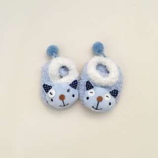 Newborn Infant Fluffy Skid Socks