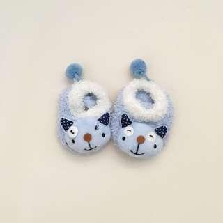 Newborn Infant Fluffy Skid Socks