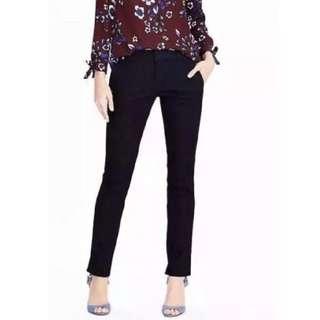 NWT BANANA REPUBLIC RYAN Premium Denim Pants Jeans US12 Fall 17 Dark Wash