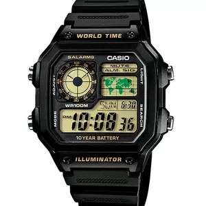 Jam Tangan Pria Casio Original World Time