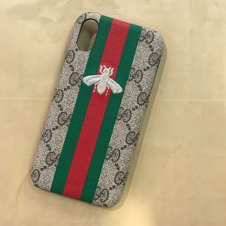 Gucci bee case red/green