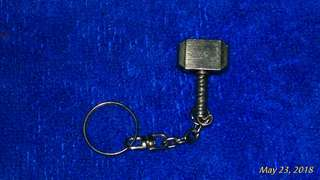 Mjolnir keychain and pin (mini)