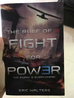 The rule of 3 Fight for power - Eric Walters