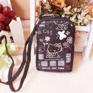 Hello kitty small pouch with sling