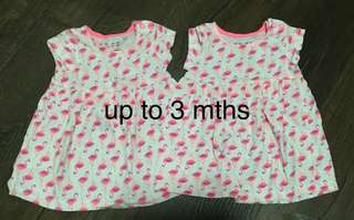 Baby Girl Dress / top for twins